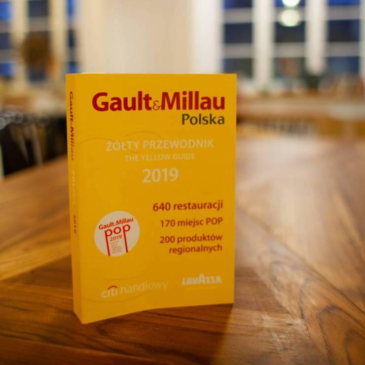 Jesteśmy w Przewodniku Gault&Millau